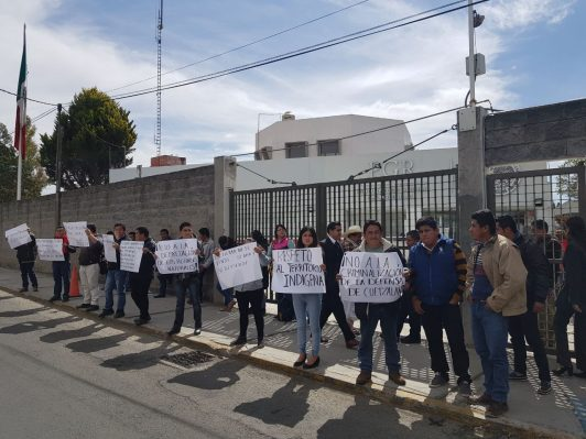 JUDICIAL PRESSURE ON THE COTIC OF CUETZALAN