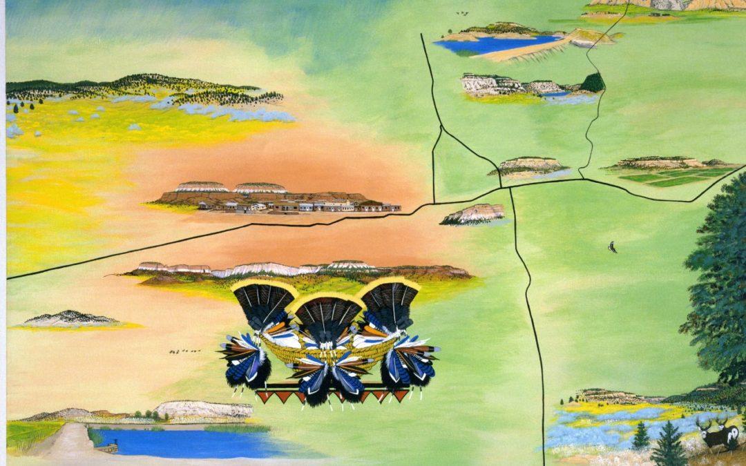 Zuni Artists Counter Mapping